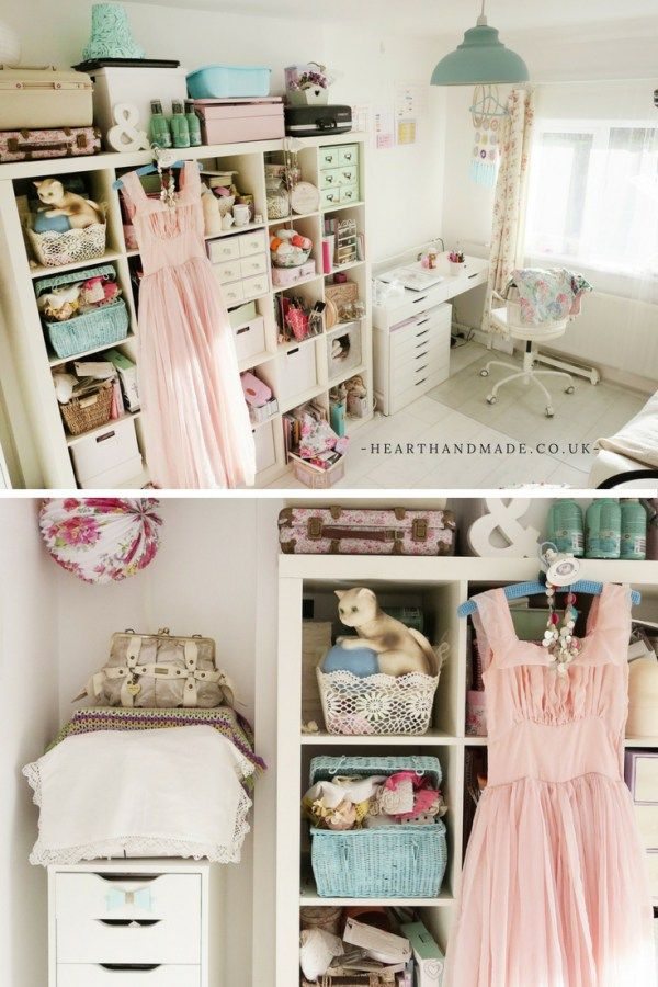 The Heart Handmade Craft Room. 1889 best Craft Rooms images on Pinterest