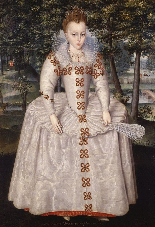 Robert Peake(1551-1626)Elizabeth Stuart, PrincessRoyal (later, Queen of Bohemia)