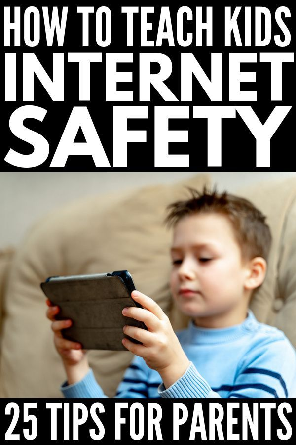 Internet Safety For Kids 25 Tips For Parents And Teachers Internet Safety For Kids Internet Safety Teaching Kids
