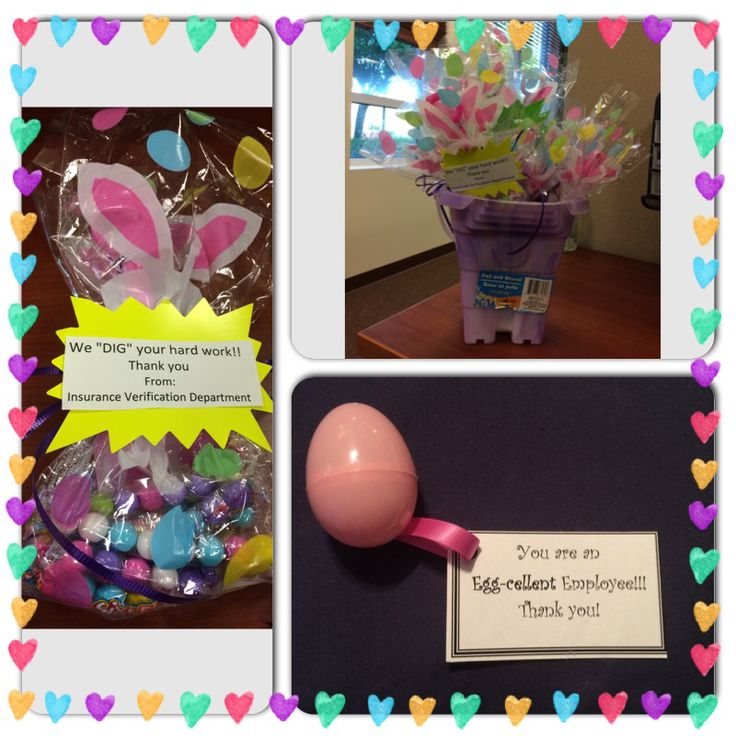 Easter employee appreciation crafts | work incentive ideas ...