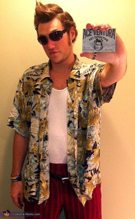Movie character costume idea: Ace Ventura
