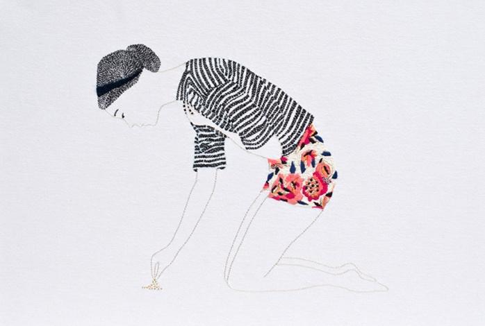 Broderies Jasmine Berakha: Textile Artists, Textiles Artists