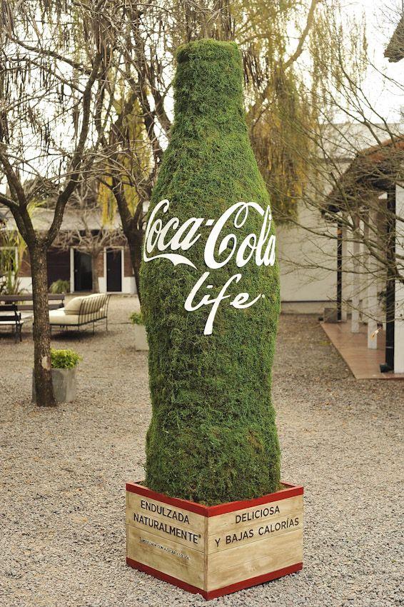 Coca-Cola Life - Sampling icon - Activation