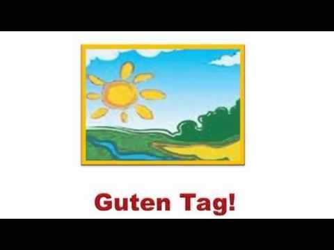 Hallo Kinder Wir lernen deutsch Part 1 - YouTube