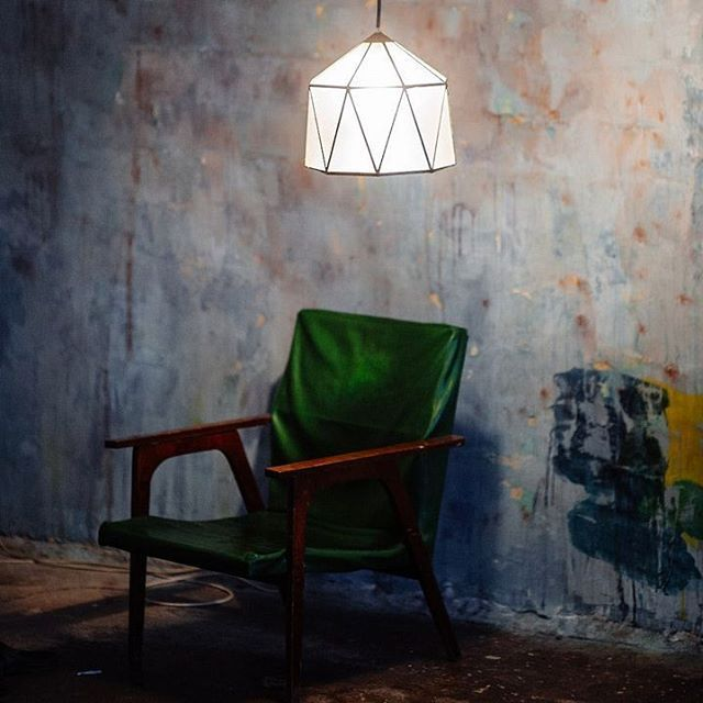 "Lamp ""Yurt"" by designer Michael Rihter. #solarisdesign #loft #light #creative #design #loftdesign #lamp #designer. #rustic #pendantlamp #floorlamp #lamp #light #design #podozritelno #promyshlennyy #art #polygonal-core #artist #inspiration #geometric #Tiffany #grunge #scandinaviandesign #scandinavianstyle #edesigner #eclectic"