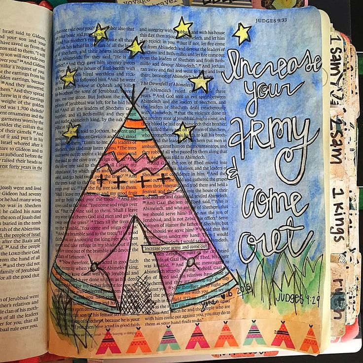 Bible Journaling by @craftinginthequeencity