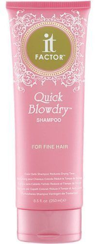 it FACTOR Quick Blowdry Shampoo (For Fine Hair) 8.5 oz