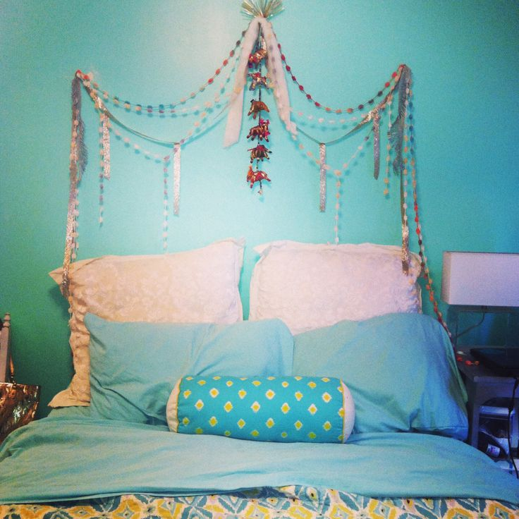 Boho Headboard Home Diy Bed Headboard Diy Bed
