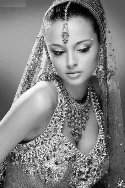 Indian Bride - OK, not henna, but henna related.