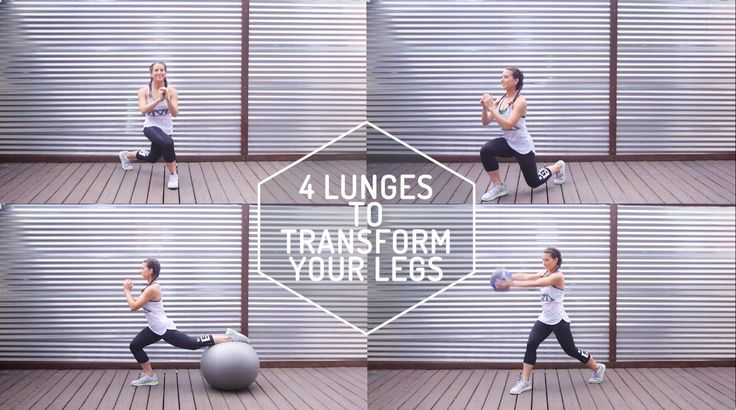 Check out our 4 go to lunges that'll take your work out game up a knotch and get those legs summer ready! Directed & Produced by: Grace F. Hartley Editor: Ma...