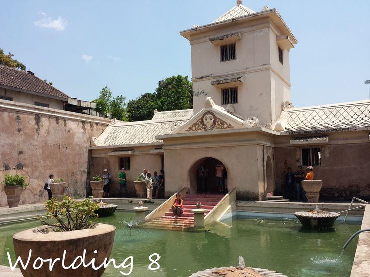 Sultán Water Palace, Yogyakarta, Isla de Java