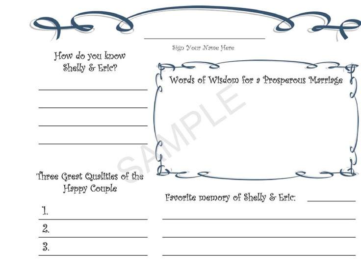 124 best Wedding Stationery images on Pinterest Blush, Book and - guest book template