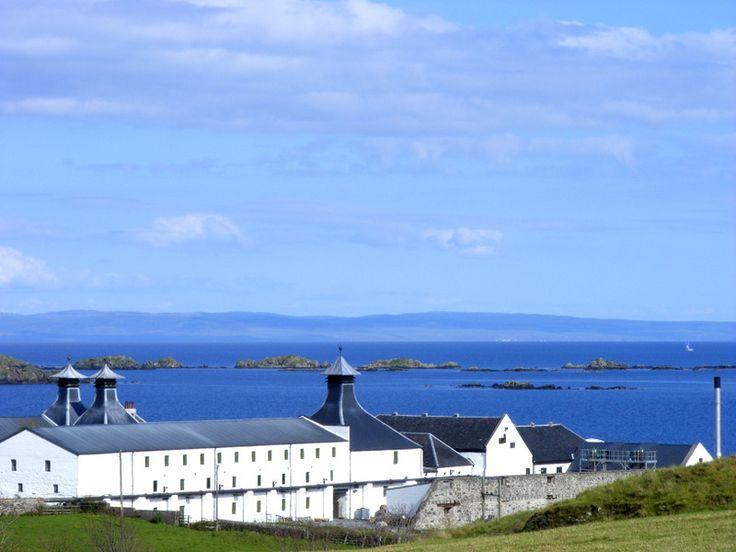 Ardbeg whisky distillery. Isle of Islay