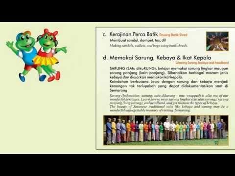 """Klub Merby di kota Semarang perlu mendapat """"jenpol"""" dengan Wisata Edukasi Budaya Semarang nya. #KlubMerby #WisataEdukasi #DolananBocah #Batik #Sarung #Semarang #Indonesia"""