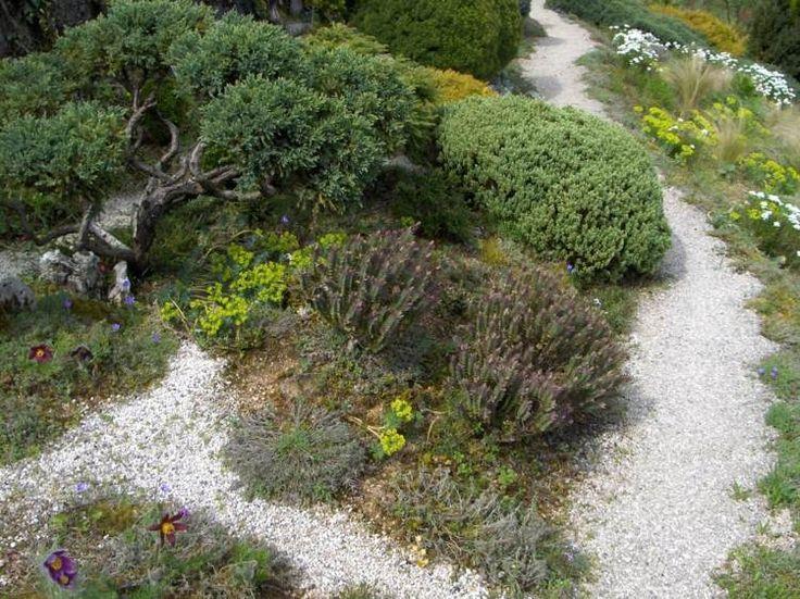 17 meilleures id es propos de gravier blanc sur for Jardin avec gravier blanc