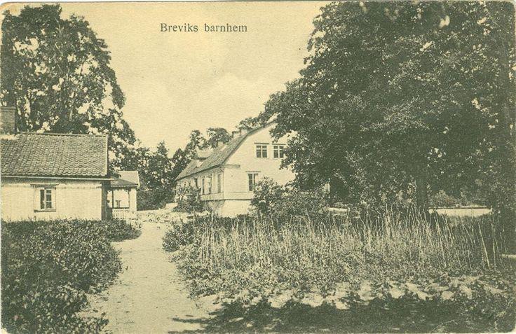 Eksjö. Breviks barnhem