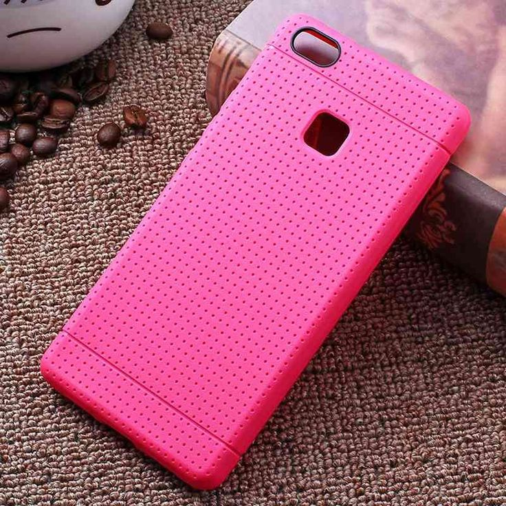 Soft Case For Huawei P9 Lite Cases Silicone Soft TPU Light Slim Protect Skin Points Coque For Huawei P9 Lite Cover Phone Bags