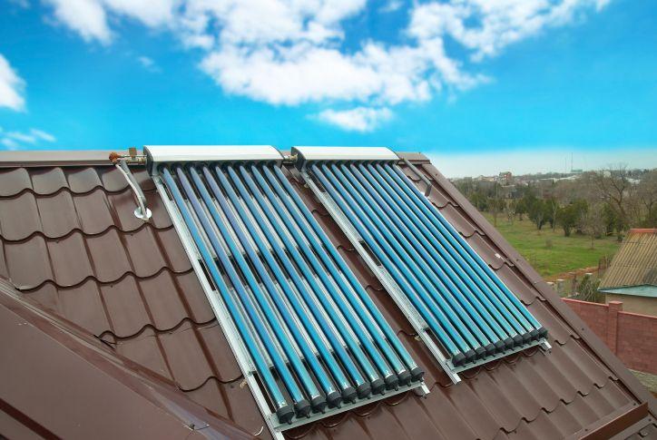 Panel solar con forma de tubo... mejorando la eficiencia del panel solar : iEcologia - ecologia y medio ambiente