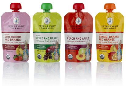 Peter Rabbit Organics baby food: Review and Giveaway.