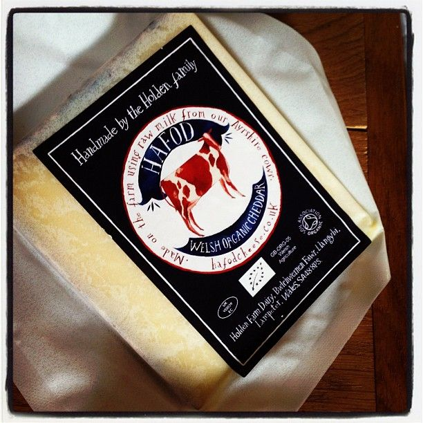 Amazing how vibrant cheese straight from the maker tastes. Munching with @adamrozencwajg Thanks @hafodcheese for your time today. #filthygoodfood