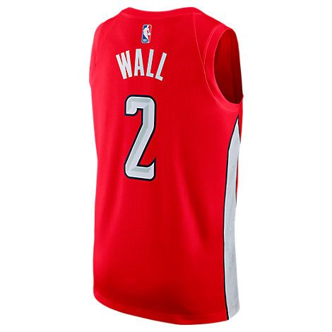 7fa03bb59 NIKE MEN S WASHINGTON WIZARDS NBA JOHN WALL EARNED EDITION SWINGMAN JERSEY