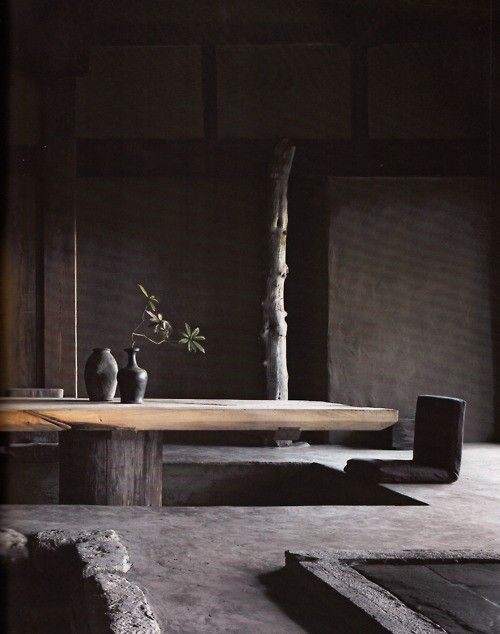 In Zen there are seven aesthetic principles for achieving Wabi-Sabi: Fukinsei: asymmetry, irregularity; Kanso: simplicity; Koko: basic, weathered; Shizen: without pretense, natural; Yugen: subtly profound grace, not obvious; Datsuzoku: unbounded by convention, free; Seijaku: tranquility