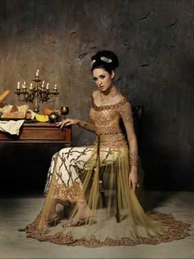 Modern Indonesian Kebaya