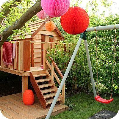 Leuk speelhuisje van Eigen huis en tuin