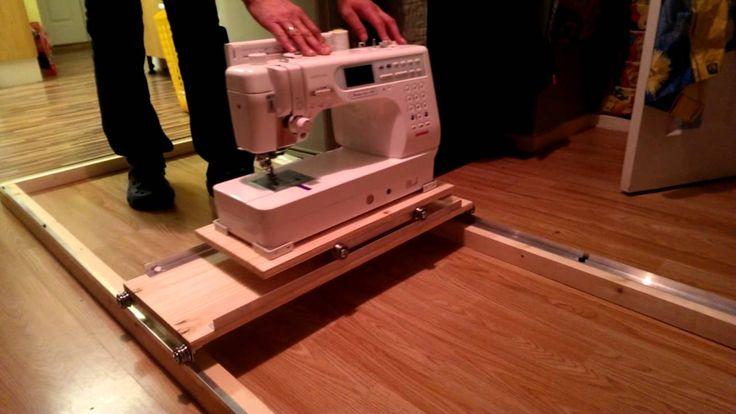 Handmade Machine Quilting Frame
