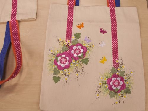 Arte Brasil   Ecobag Floral - Dalva Machado