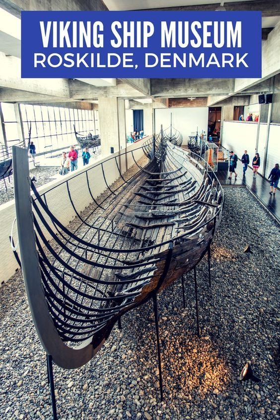 The Viking Ship Museum in Roskilde, Denmark, is a nautical enthusiast's paradise. See 1000-year-old ship relics, watch re-creations being built, and get in on the hands-on fun.: