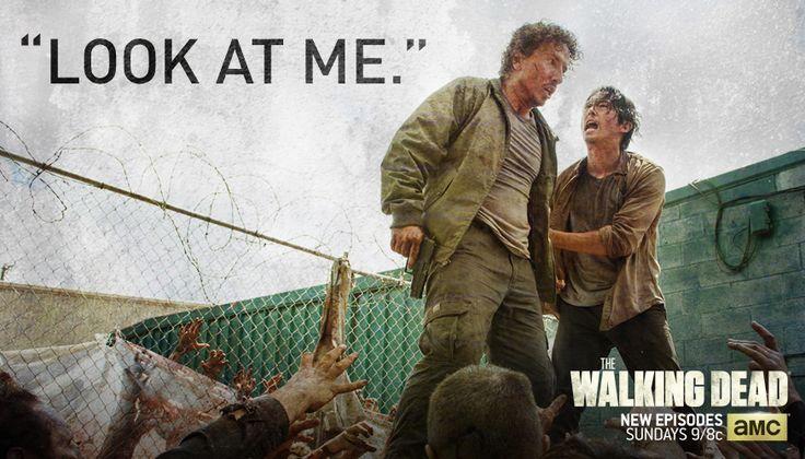 """Look At Me"" - Glen Rhee The Walking Dead Season Six Episode Three Thank You"