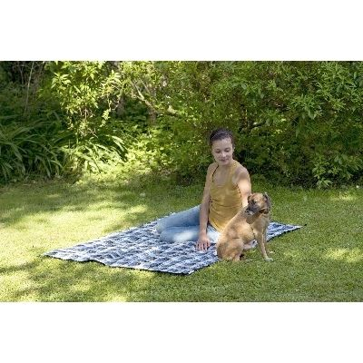 AZ 5050400 - Travel Blanket ultra-light - coperta impermeabile - confezione ultra-piccola - vivere all'area aperta - Amazonas Amache