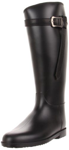 Dirty Laundry by Chinese Laundry Womens Riff Raff PVC Rain Boot Black 9 M US -- See this great product.