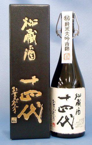 Amazon.co.jp: 十四代 秘蔵酒 純米大吟醸 古酒720ml 高木酒造: 食品・飲料・お酒