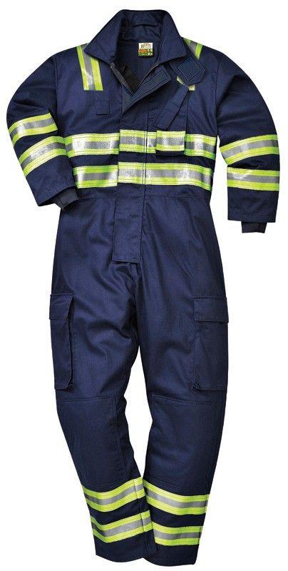 PRACOVNÉ ODEVY | Odevy S nehorľavou úpravou | Pracovné odevy - Hasičská kombinéza FR98 PORTWEST | - pracovné odevy, pracovná obuv, pracovné rukavice KADO, POPRAD