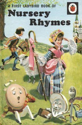 FIRST BOOK OF NURSERY RHYMES Vintage Ladybird Book Tales and Rhymes