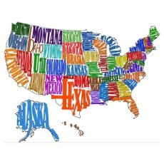 Best Maps Images On Pinterest States United States And - States of us map