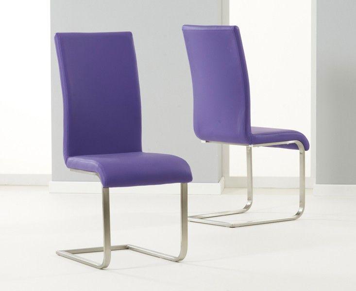 Die besten 25+ Purple dining chairs Ideen auf Pinterest Lila - aktuelle trends esszimmer mobel modern