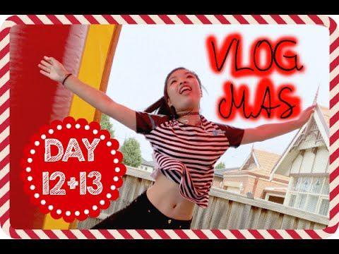 VLOGMAS Day 12+13, 2015 - BEING A KID AGAIN | Ginaslifee
