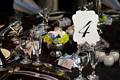 Fancy shaped table numbers - Canvas Stationery Boutique
