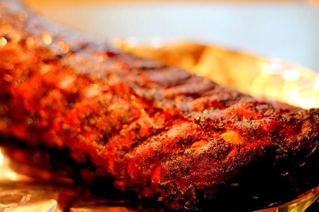 """Big Green Egg"" Smoked Southern Baby Back Ribs Recipe & Tutorial"