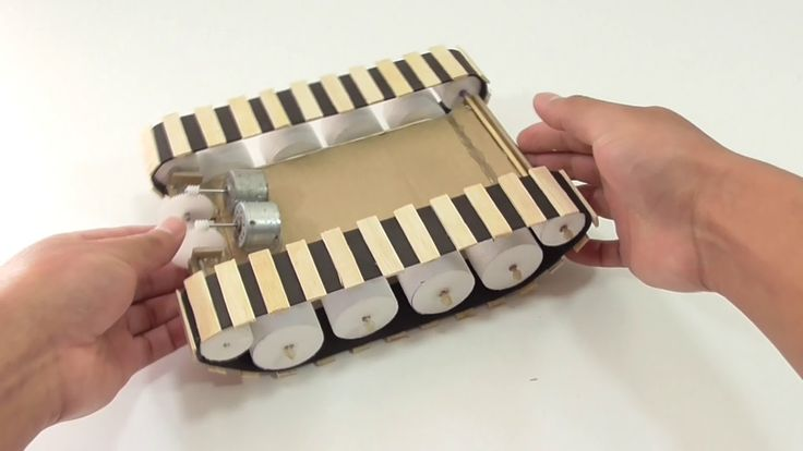 How To Make A RC Tank