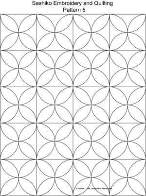 Sashiko Pattern 2: Sashiko Pattern 5