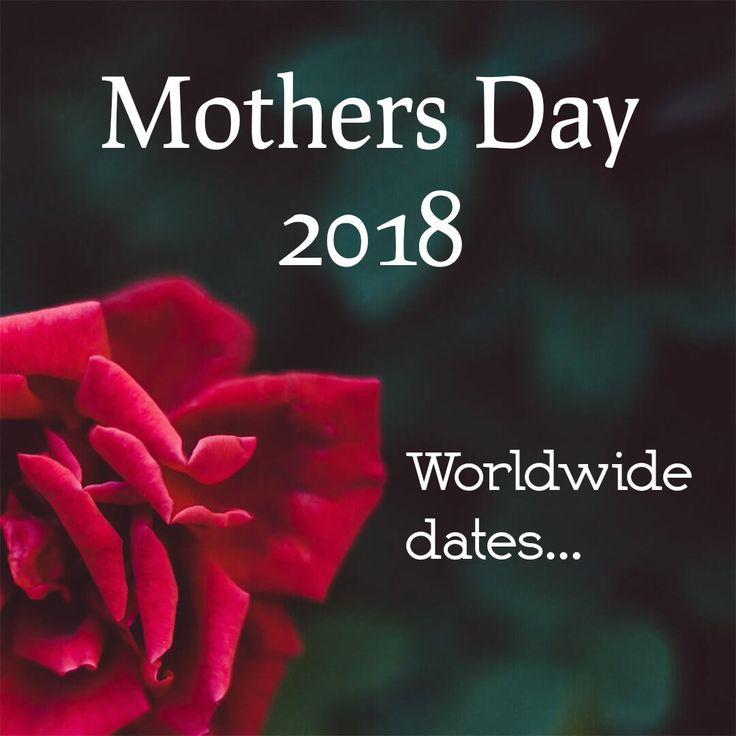 I knew Mothers Day in the UK & USA were on different days but I had no idea that there were actually 31 different #MothersDay 's worldwide! Check out @ClareFlorist blog for a full list of dates & countries. Never forget mum wherever in the world she is!  https://www.clareflorist.co.uk/international-mothers-day.aspx