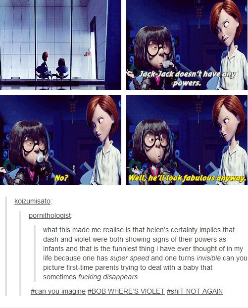 6 Incredible Times The Incredibles Spoke to Tumblr Users