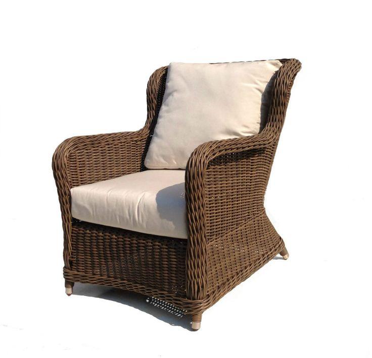 Bayshore Outdoor Wicker Chair #wicker #patio #furniture
