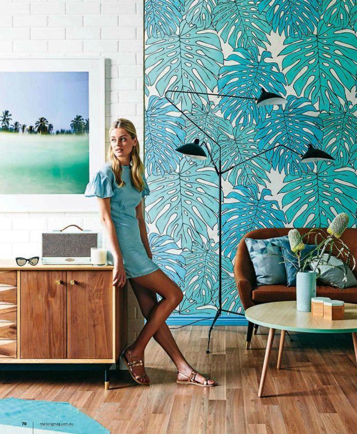 Poppytalk: On the Radar   Tropical Print Wallpapers