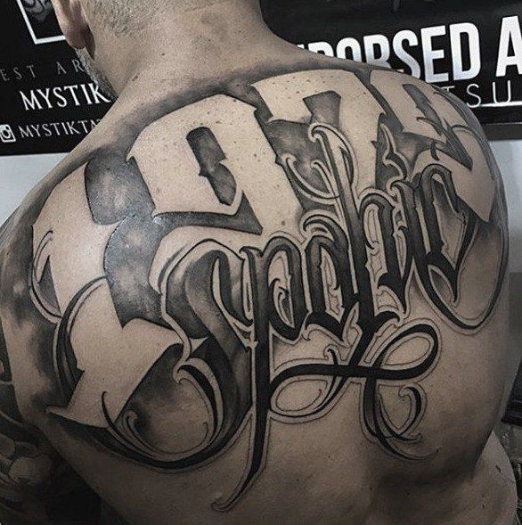 how to fix bad tattoo lettering