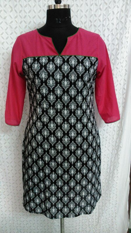 Buy Designer Indian #kurti online with #craftshopsindia